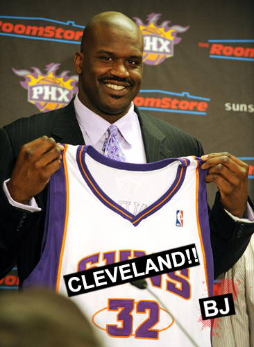 Shaquille O'Neal Goes to Cavs