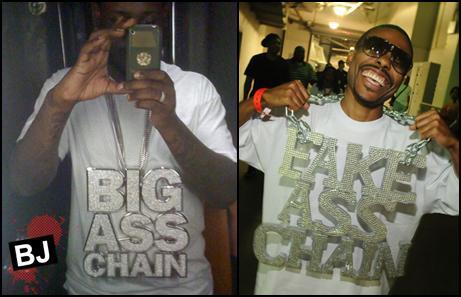 T-Pain (L), Lil' Duval (R)
