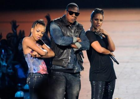 Lil' Mama, Jay-Z, Alicia Keys